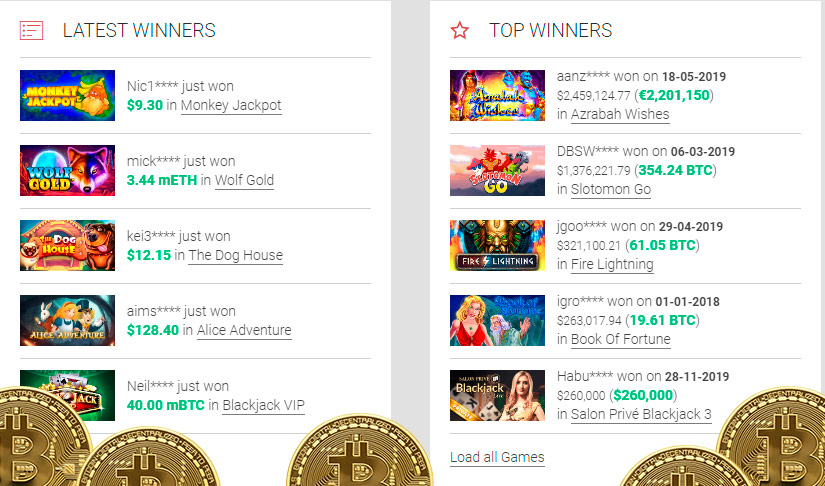 Bitcoin slot machine the game