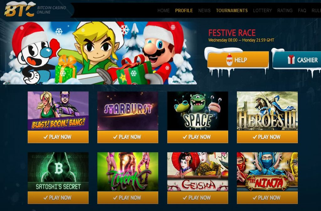 Bitcoin casino bitcoin slots king